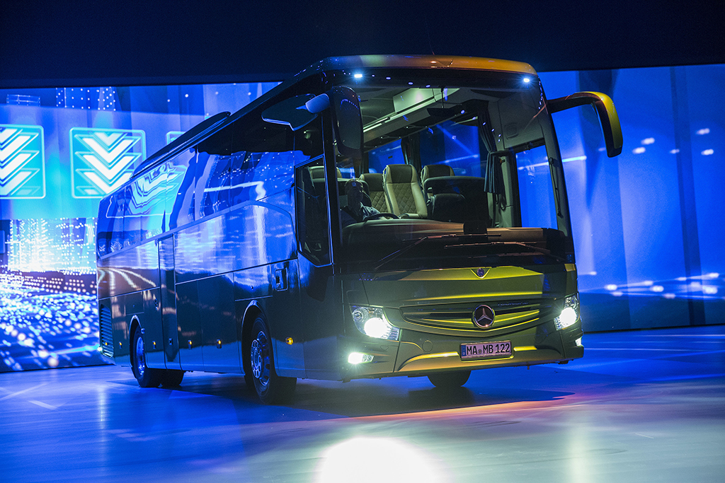 Mercedes-Benz Presents The New Version of Europe's Most Successful Touring Coach - Tourismo RHD 1