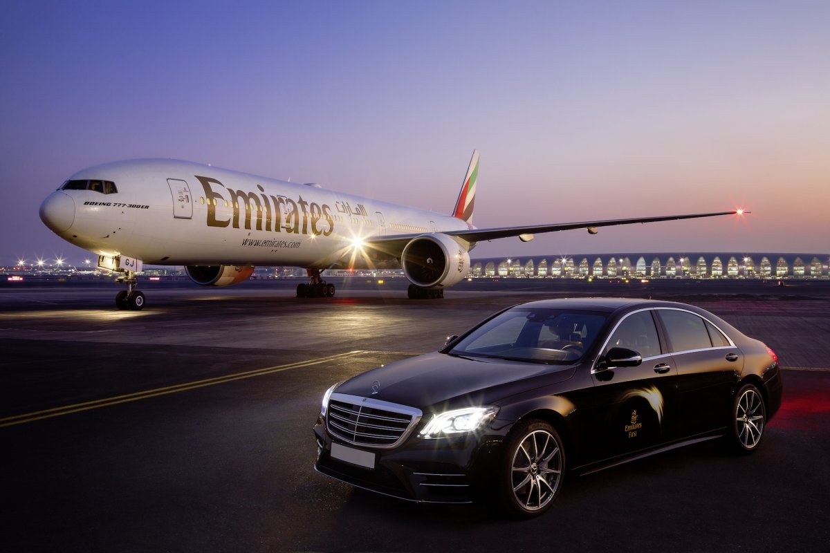 Fly Emirates' First Class – inspired by Mercedes-Benz 1