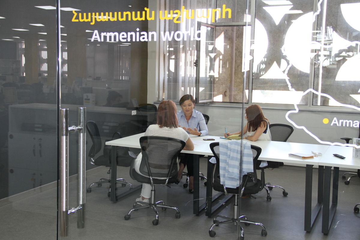 Dina Nurpeissova: Development and promotion of employees is a priority for VEON Armenia 1