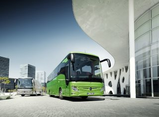 Mercedes-Benz Presents The New Version of Europe's Most Successful Touring Coach – Tourismo RHD