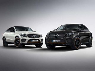 Mercedes-Benz: GLE Coupé available as OrangeArt Edition