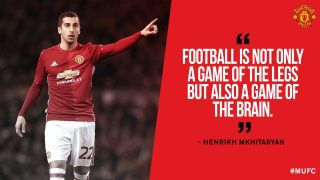 Henrikh Mkhitaryan: Footaball is Not Only a Game of The Legs But Also a Game of Brain