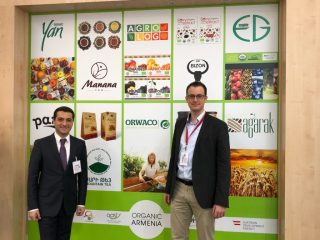 Armenia participates in BIOFACH organic food expo in Germany