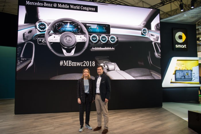 Mercedes-Benz at the Mobile World Congress 2018