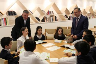 The Cafesjian Center for the Arts and Beeline Gifted Books on the Occasion of Hovhannes Tumanyan's 150th Anniversary