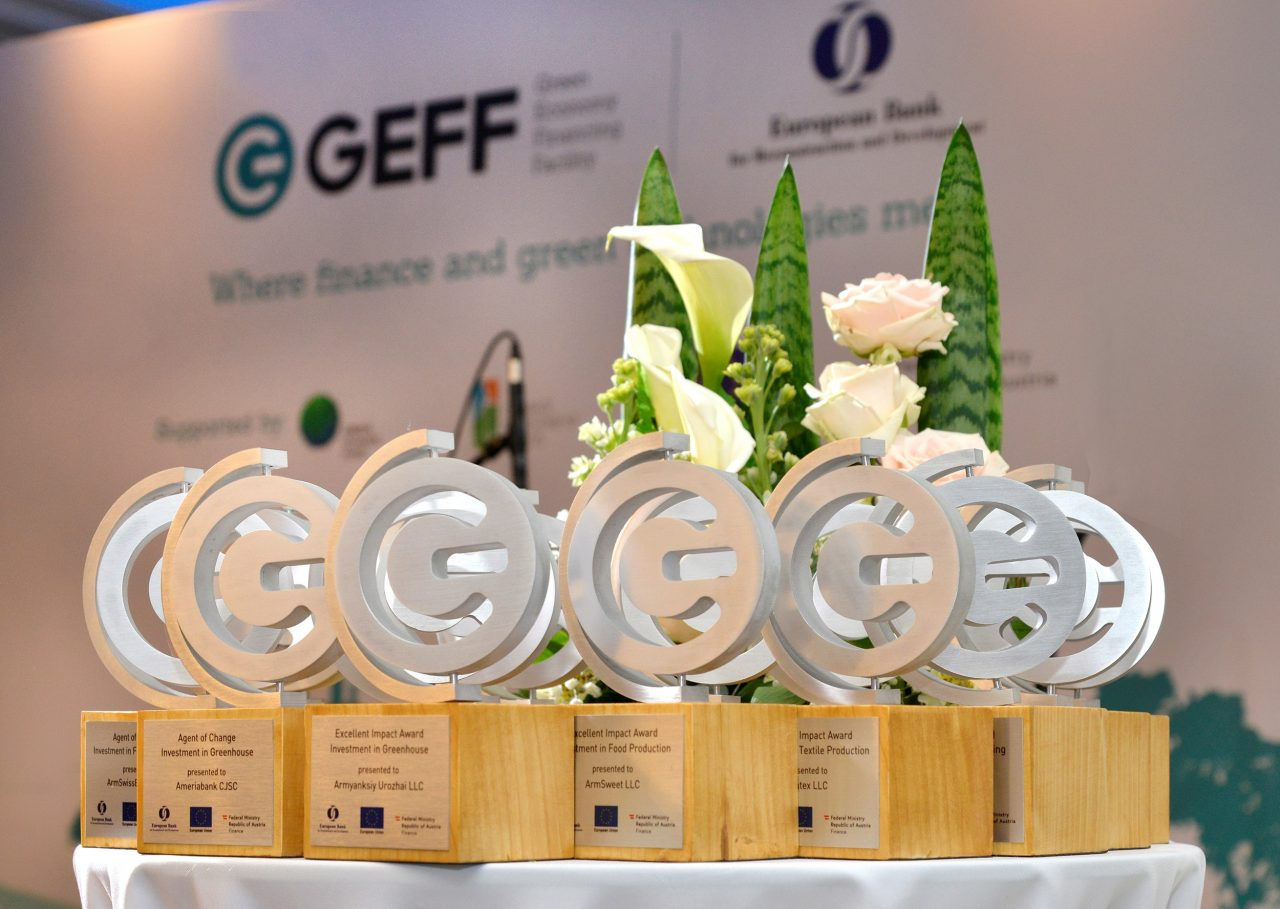 EBRD celebrates best sustainable energy projects in Armenia