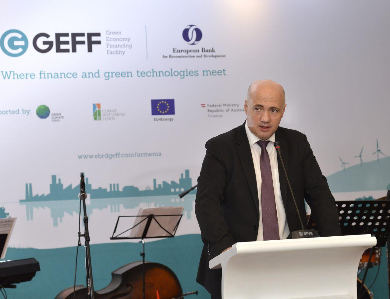 EBRD deepens green finance in Armenia