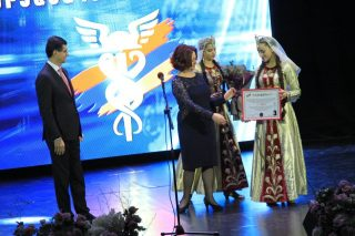 """Leader of the year in CSR sphere: VivaCell-MTS General Manager become the laureate of the """"Mercury"""" Award"""