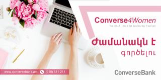 "Converse Bank launches ""Converse4Women"" campaign for businesswomen"