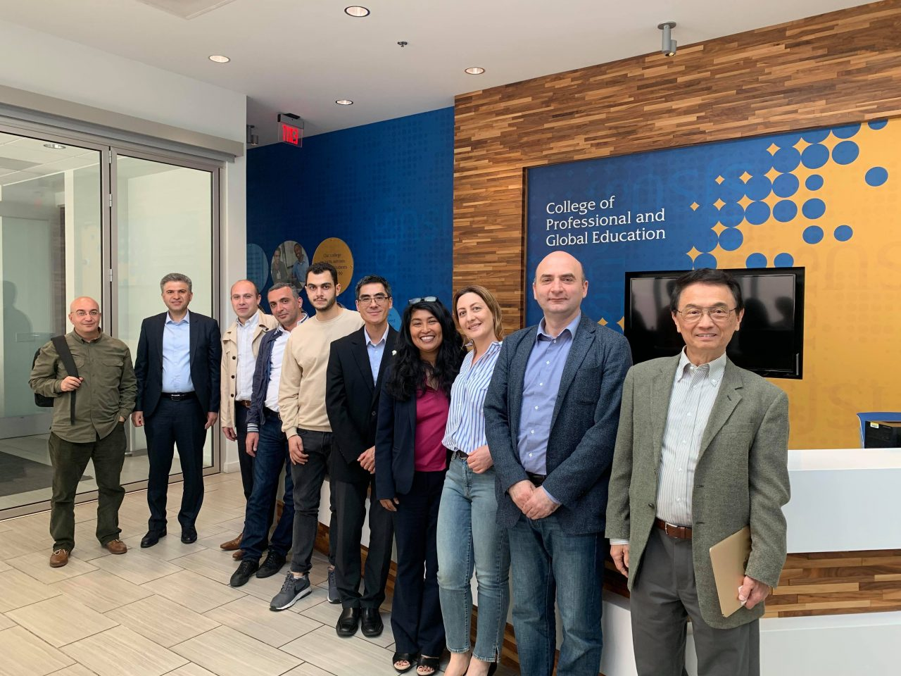 Professors of Yerevan State University and San Jose State University develop joint Master program with EIF support