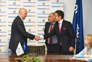 Converse Bank signed Micro and SME financing loan agreement with Eurasian Development Bank