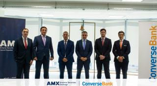1 Billion AMD and 10 Million USD. Converse Bank Listed Bonds on Armenia Securities Exchange