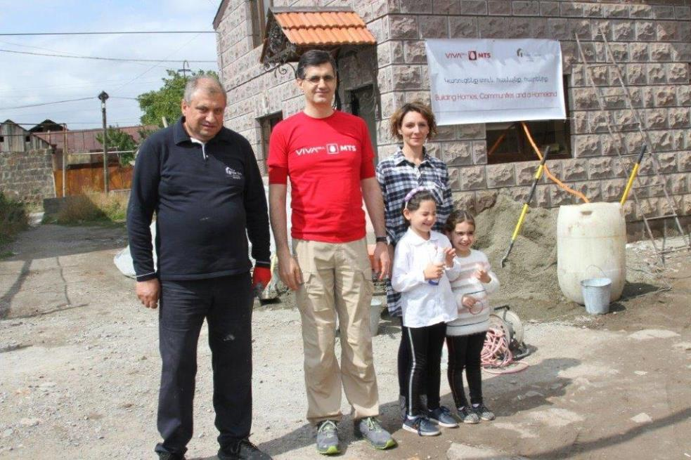 Vivacell-MTS: Another Family from Gyumri to Leave the Metal Container