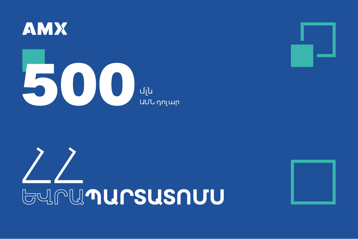 Armenia's USD500 million Eurobond is now traded on Armenia Securities Exchange