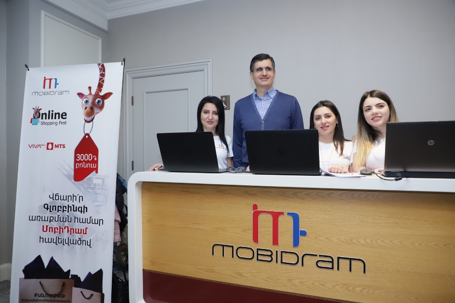 VivaCell-MTS and MobiDram in the center of online shopping and Black Friday
