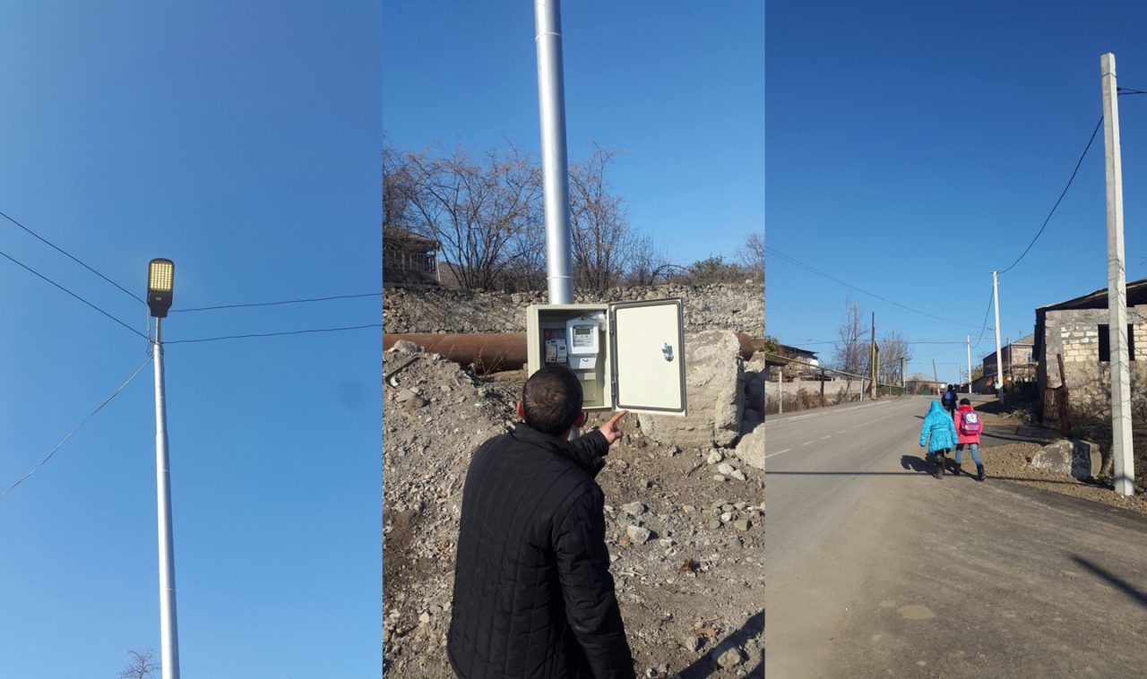 Vivacell-MTS: The borderland village of Nerkin Karmiraghbyur will celebrate the New Year with illuminated streets