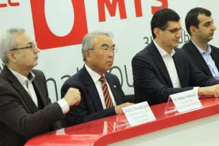 Takeo Kanade, author of 'virtualized reality', visits VivaCell-MTS to meet with ICT community of Armenia