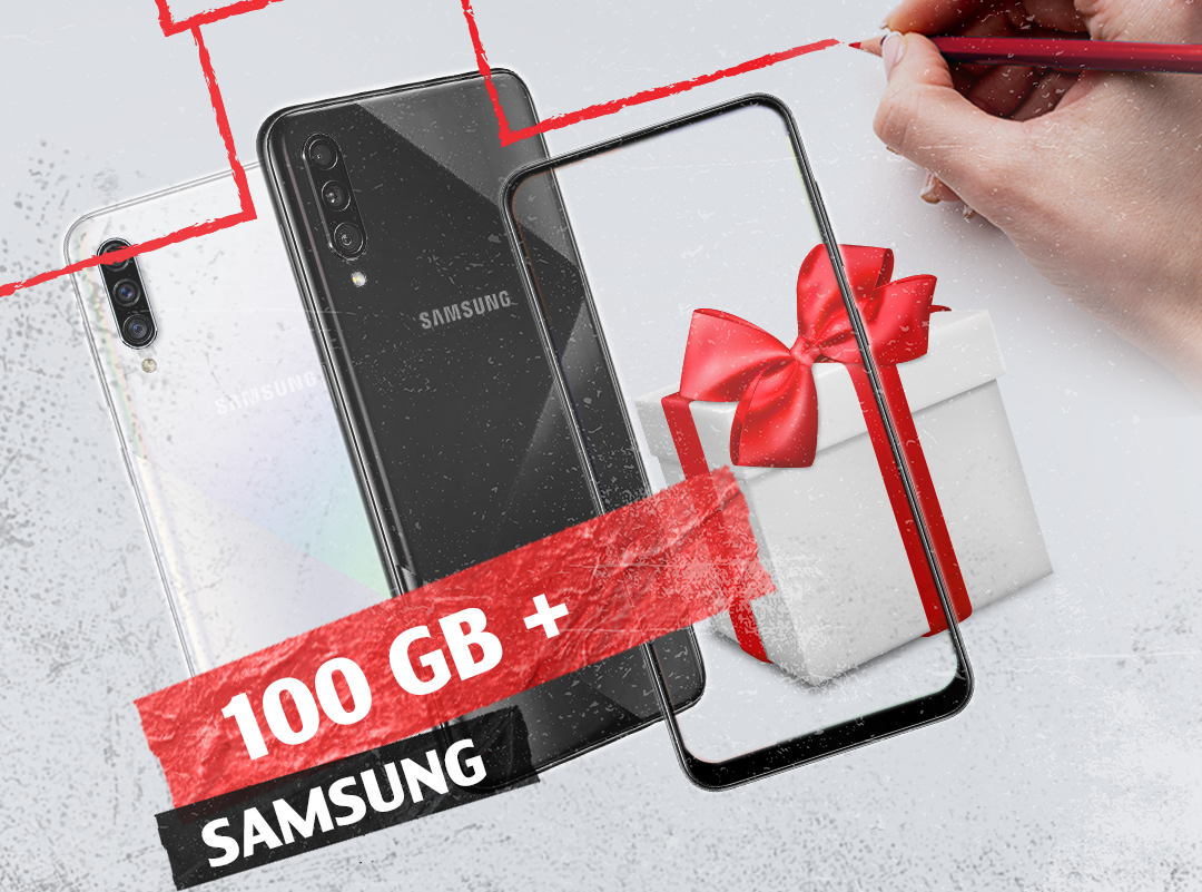 100 GB of Internet and Y tariff plan, when buying a number of Samsung Galaxy smartphone models at Viva-MTS