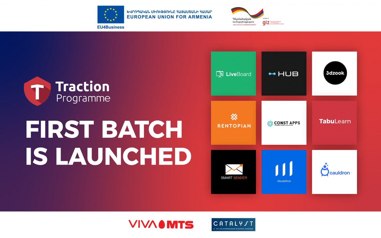 Armenia Startup Academy Traction Programme First Batch is launched
