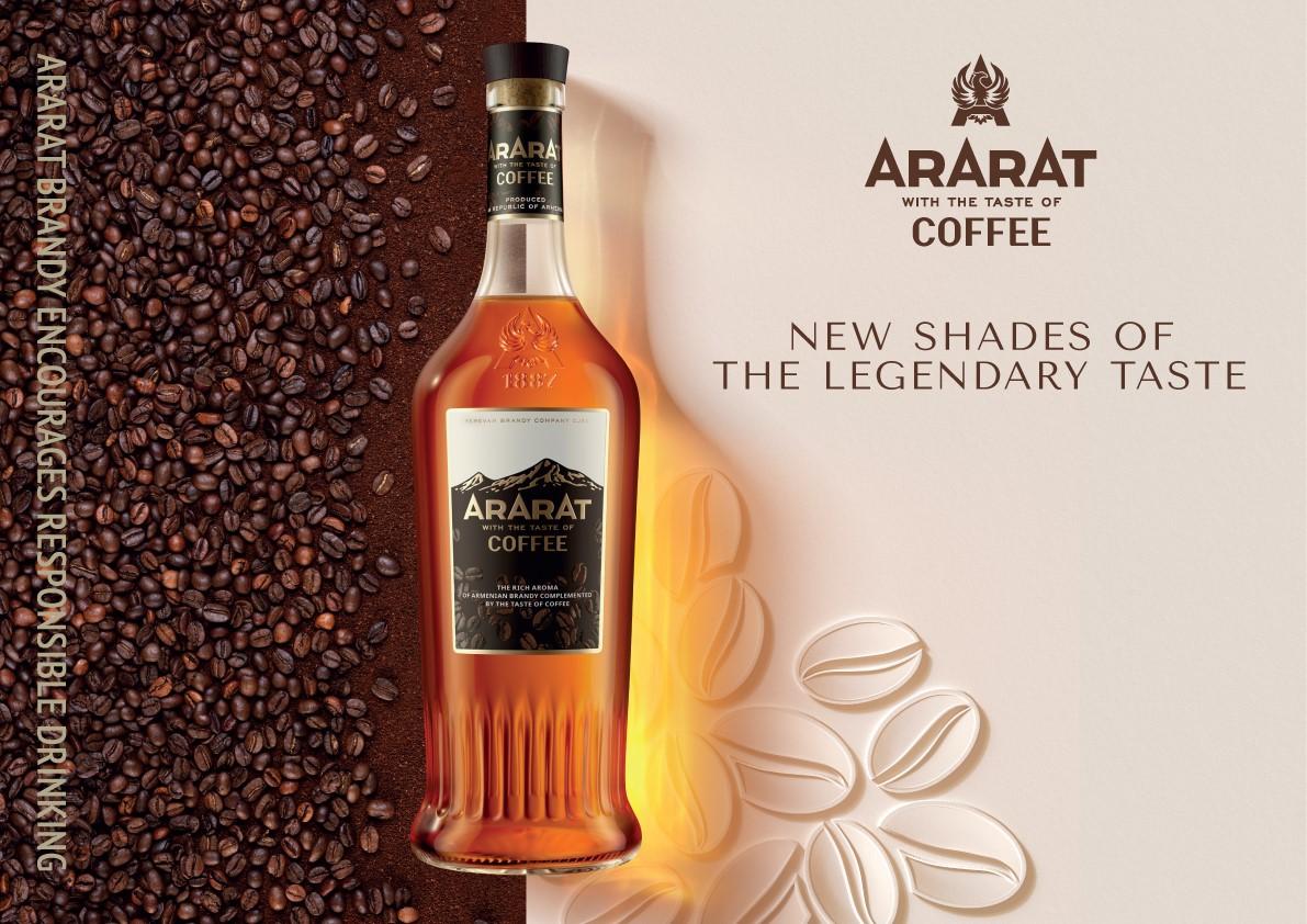 ARARAT Coffee: Yerevan Brandy Company presents new taste in the ARARAT Flavors range