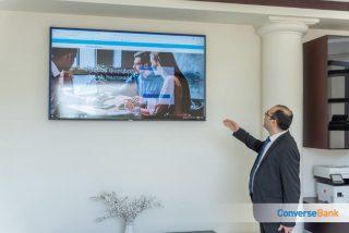 Presentation of Converse Bank's online platform for SME financing