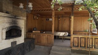 A guest house in Gyumri filled with humor. One success story