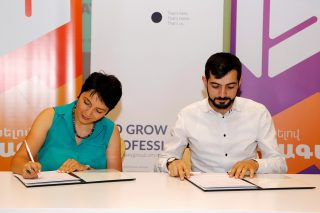 Galaxy Group of Companies implements joint projects in the field of education with Ayb Educational Foundation