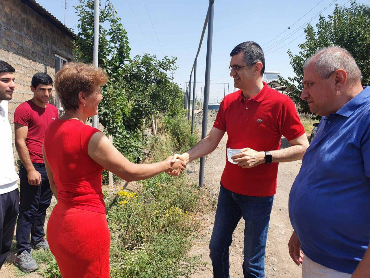 Viva-MTS: Long Awaited Housewarming in Amberd Village