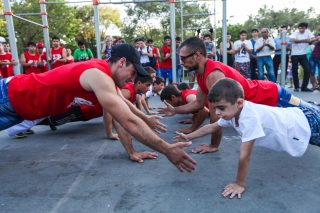 Converse Bank: Success story - Outdoor training workouts: emerging new culture
