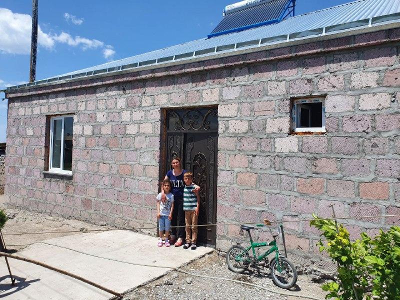Viva-MTS: Spacious stone house instead of a half-ruined room