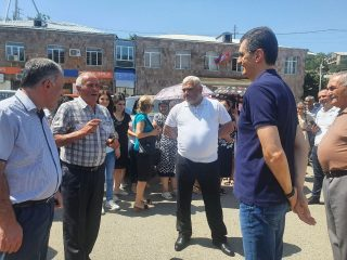 Viva-MTS: The infrastructural reconstruction works are in the process in the biggest settlement of Tavush regions