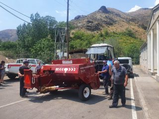 Viva-MTS: New agricultural equipment for the Artabuynq settlement