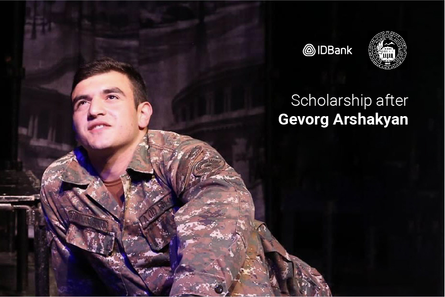 YSU with financial support of IDBank announces Scholarship Competition after Gevorg Arshakyan