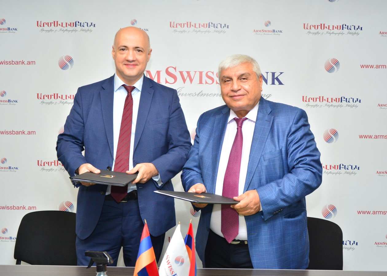 Two New Loan Agreements are Signed Between ARMSWISSBANK and EBRD