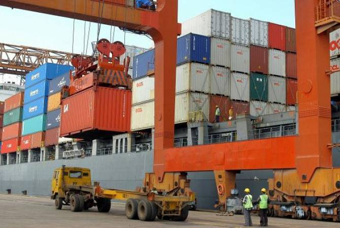 Armenia Export up by 16.1% in January-April 2017