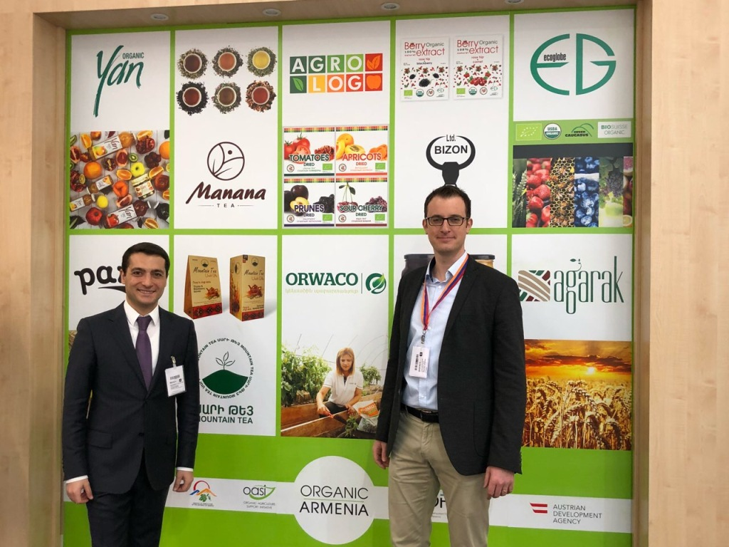 Armenia participates in BIOFACH organic food expo in Germany