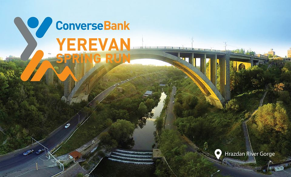 Converse Bank is the sponsor of Yerevan Spring Run 2018 marathon
