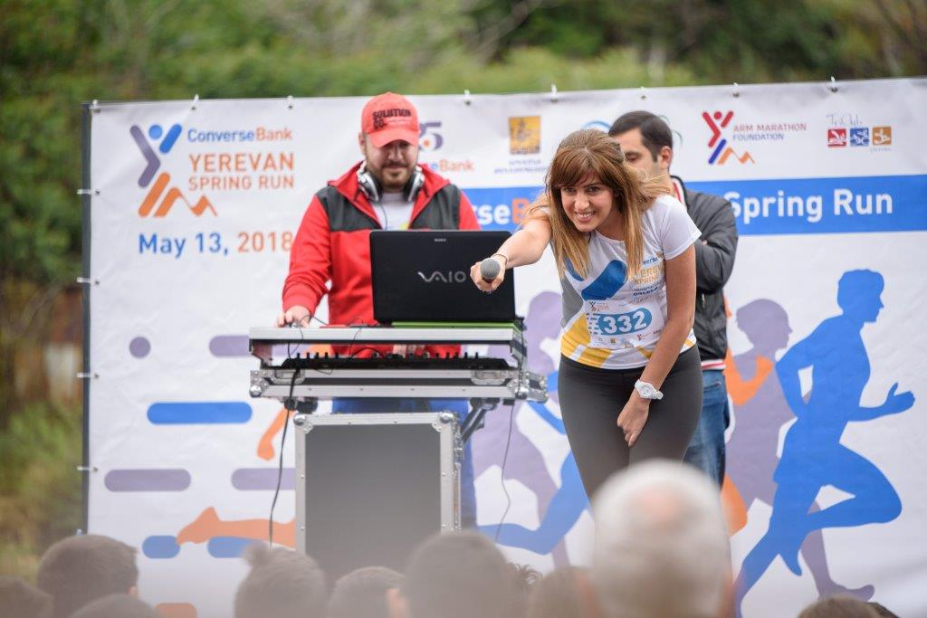 Converse Bank Yerevan Spring Run 2018 marathon sponsored by Converse Bank