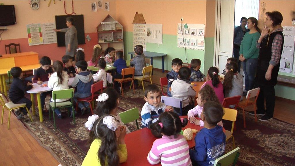 Vivacell-MTS: The problem of heating in the kindergarten of the village of Agarakadzor to be solved this year