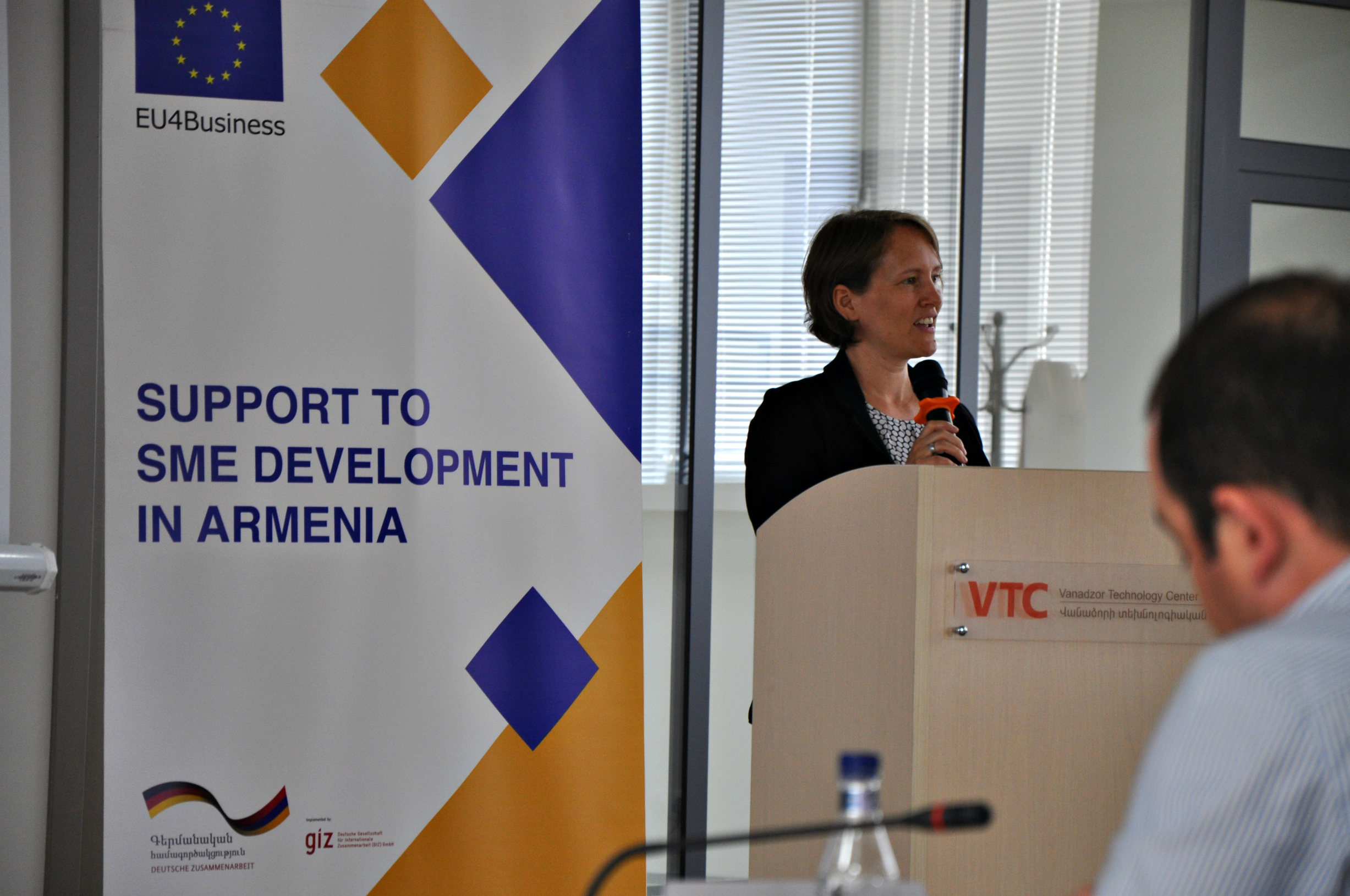 IT is promising in Armenia, the entrepreneurial culture needs a boost. Eva Maria Näher