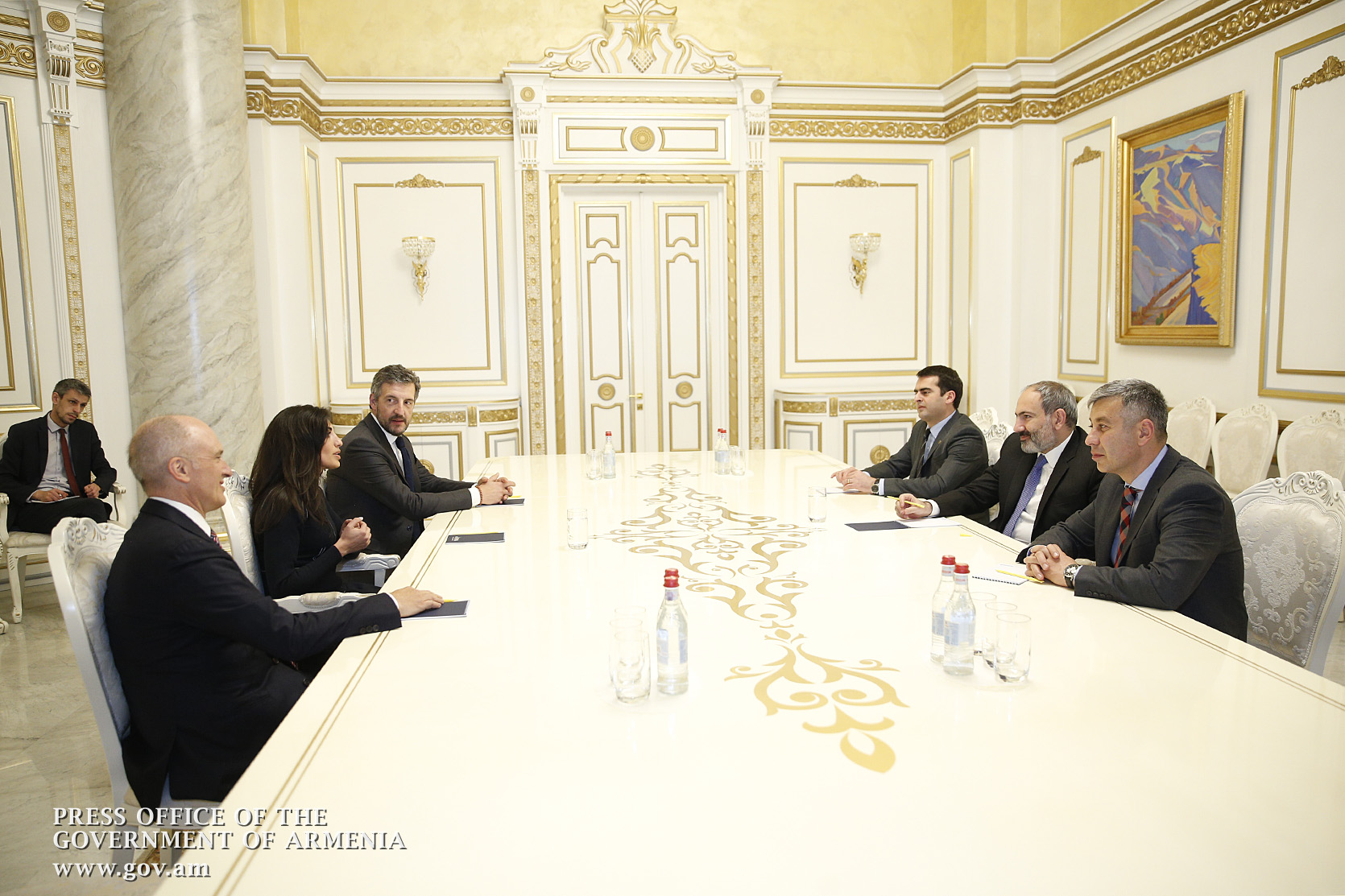 RA Prime Minister, Index Ventures executives discuss prospects for launching activities in Armenia