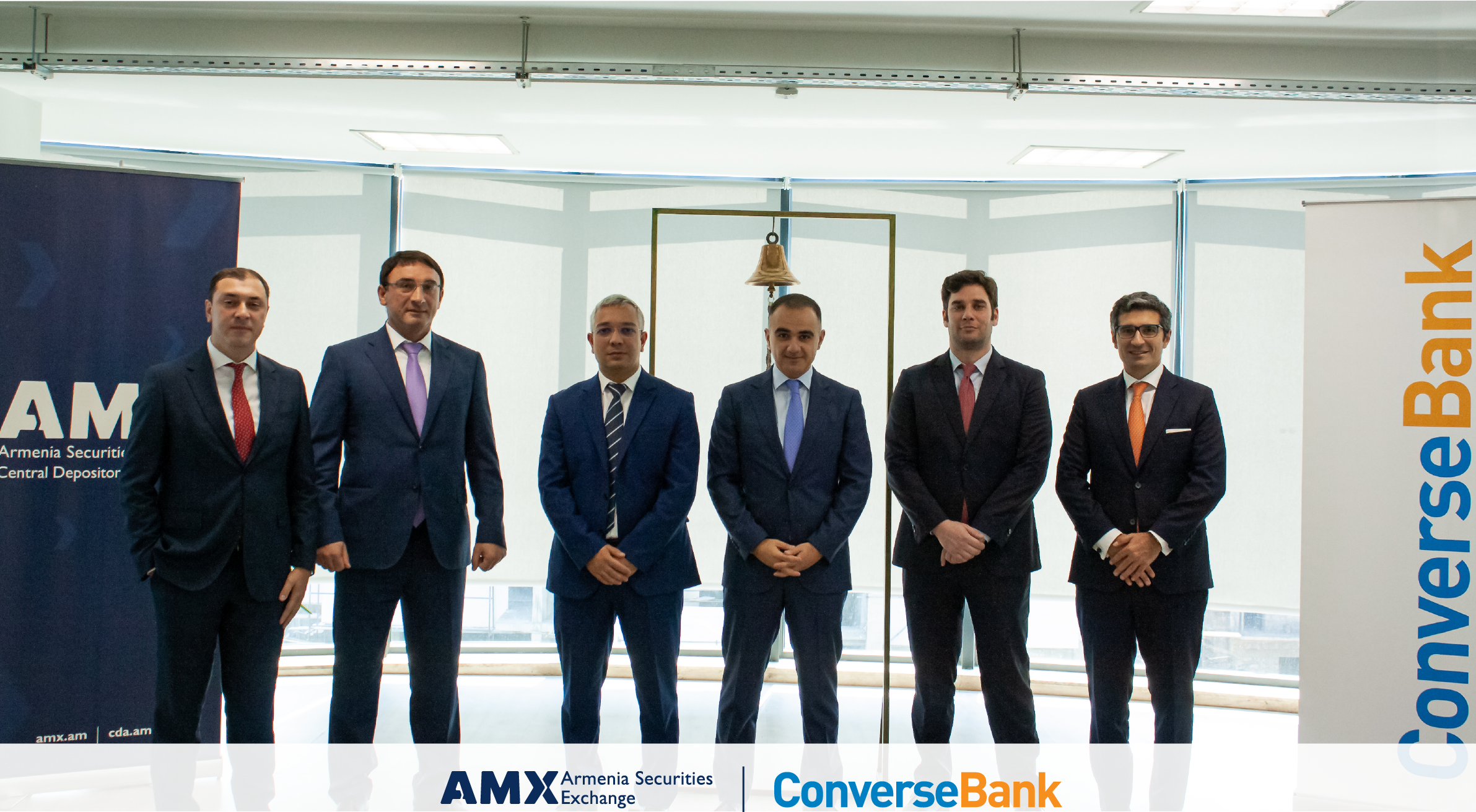 1 Billion AMD and 10 Million USD. Converse Bank Listed Bonds on Armenia Securities Exchange