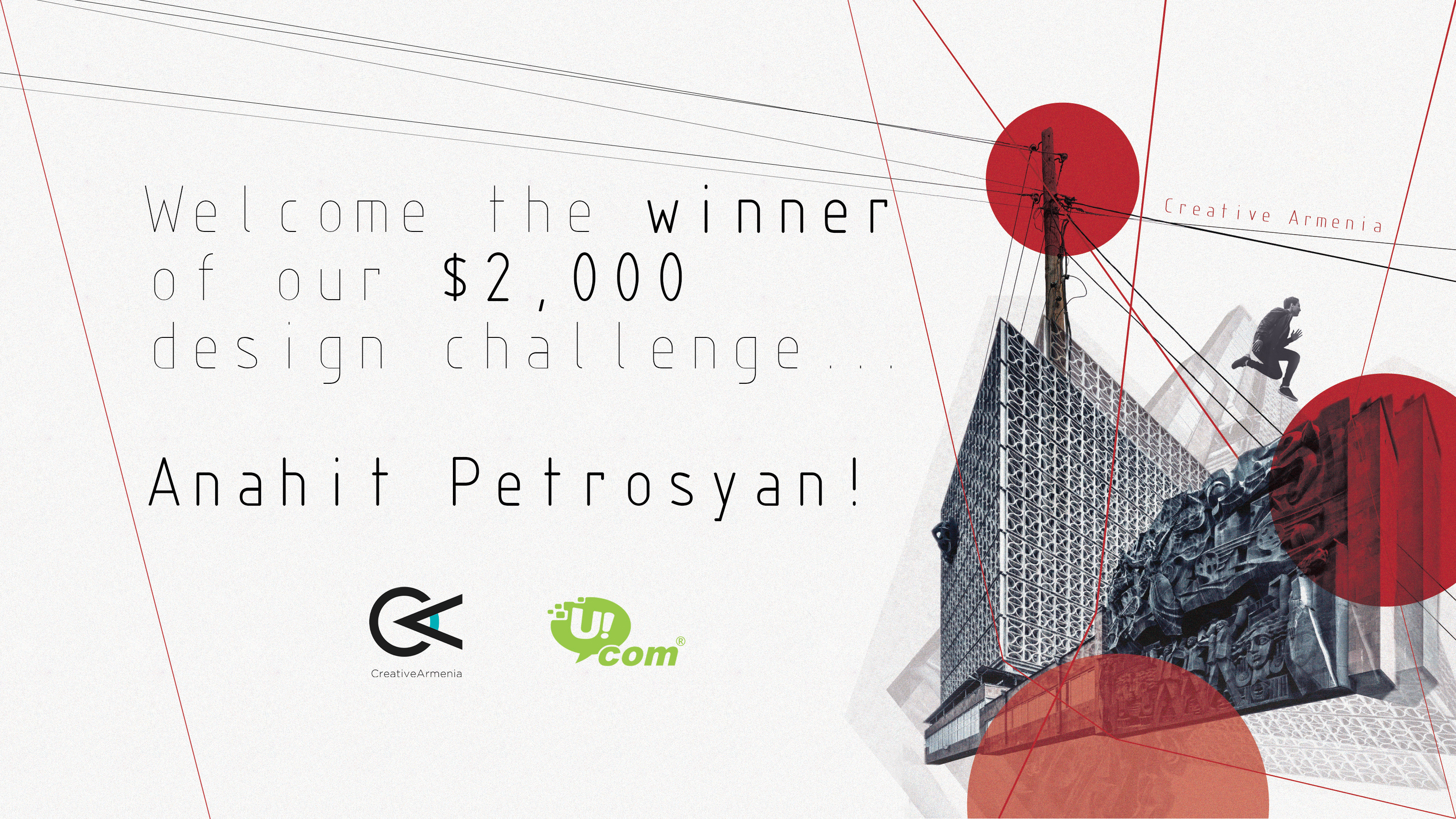 Creative Armenia and Ucom announce winner of $2,000 movie poster challenge