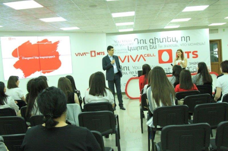 "Vivacell-MTS: Certificates handed over to the graduates of yet another ""VivaStart"" program"