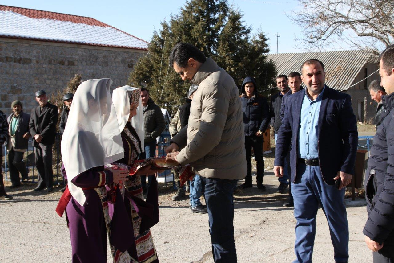 Vivacell-MTS: Khachik Frontier village was also provided with Street lighting