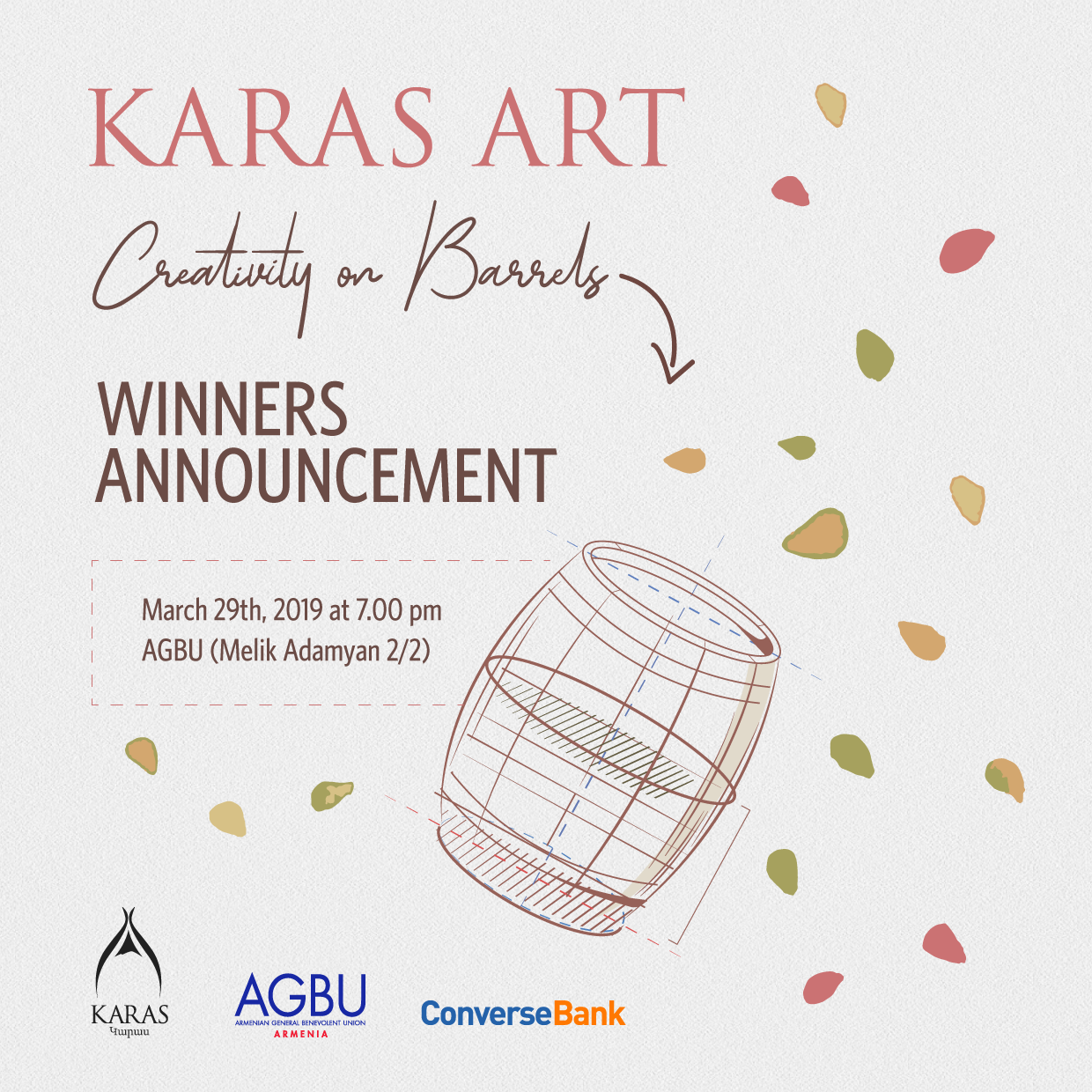 Karas Wines and Converse Bank have summarised the results of a joint contest