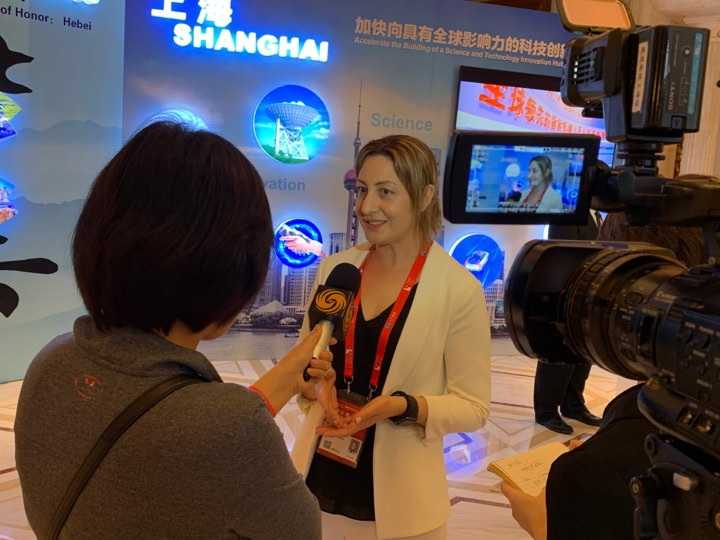Enterprise Incubator Foundation (EIF) participates in Pujiang Innovation Forum in Shanghai
