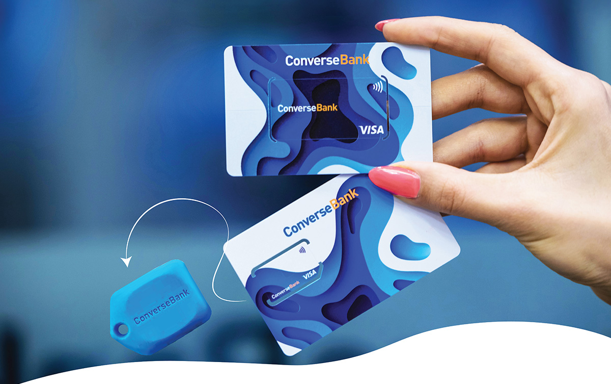 Visa Mini Fob - Converse Bank's interesting offer to its customers