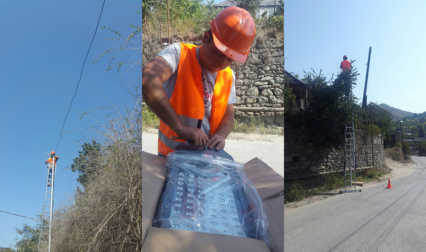 Vivacell-MTS: Installation of LED Lamps as a Means of Saving the Community Budget