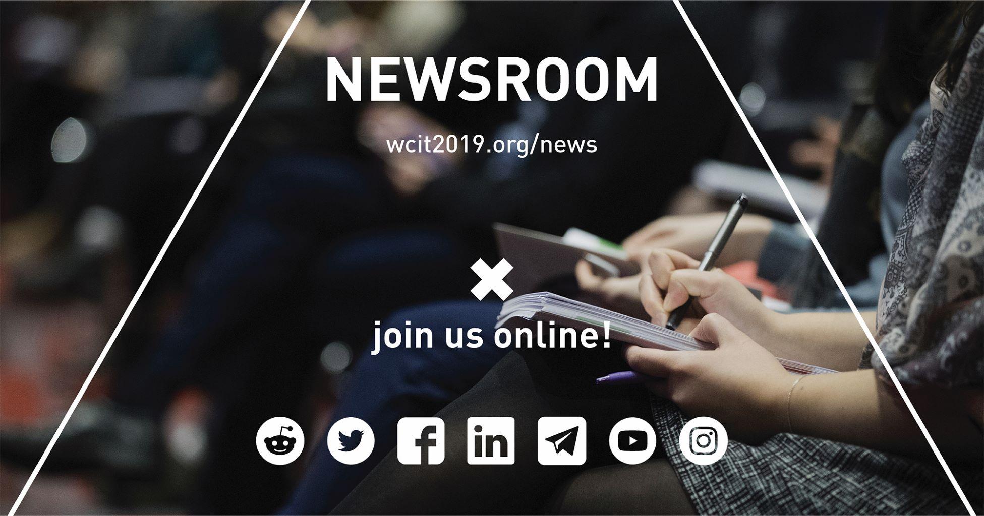 WCIT 2019 now live on all social media platforms, pre-registration in process